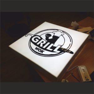 световой короб гриль